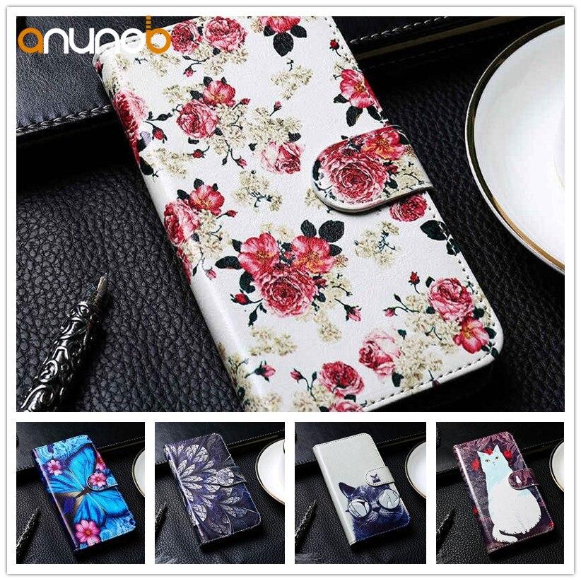 Soporte Flip Funda de cuero para Nokia Lumia 640, 650, 850, 920, 930, 950 950XL N640 N650 N850 N920 929 N950XL 16mm/20mm/25mm/30mm/40mm cubierta pintada