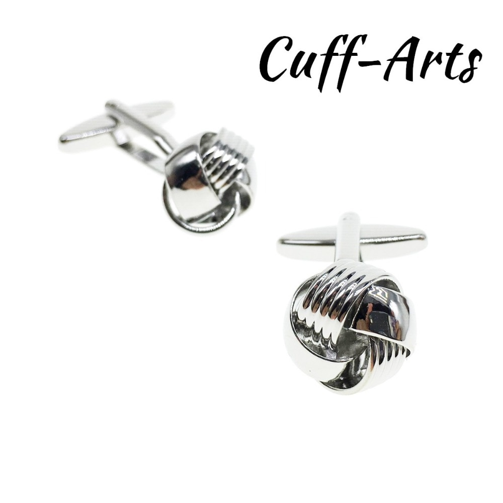 Cufflinks for Men Knot For Fashion Design Top Quality Brass Hotsale by Cuffarts C20077