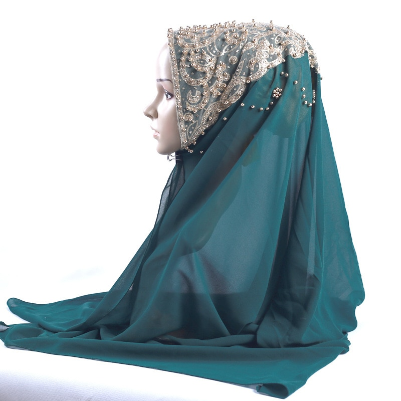 Nouvelle Abaya dubaï Islam arabe foulard en mousseline de soie Hijab Abayas pour les femmes musulmanes Niqab Turban Hijabs châle Turbante Mujer foulard foulard