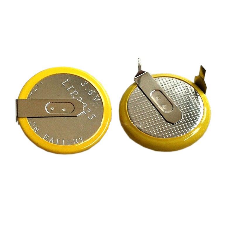 500 Bateria de Substituição Para BMW E46 E39 X3 X5 LIR2025 pçs/lote E46 E38 E39 FOB Chave Remota Chaves Auto Remoto bateria 3.6V