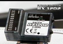 Walkera DEVO RX1202 récepteur 12 canaux 2.4Ghz combinaison parfaite avec lémetteur numérique Devention Devo 12s