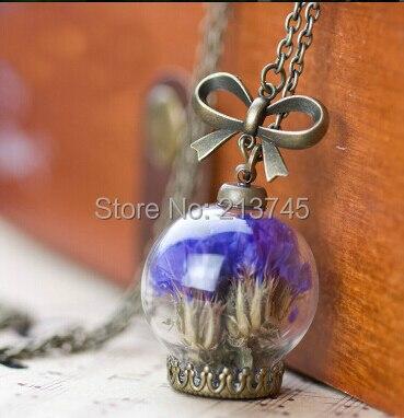 Venta ¡ libere la nave! 50 set/lote 20*12mm (apertura) globo de cristal y base y tapa de burbuja vial colgante botella cubierta de cristal