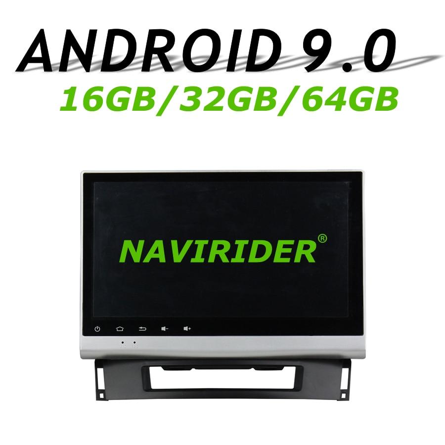 "Navirider navegación GPS para Opel Astra J CD300 CD400 apoyo 10,1 ""coche android 9,0 8core 64gb rom reproductor de radio Bluetooth Estéreo"