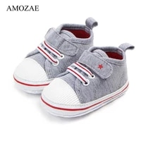 newborn baby boy girl shoes first walkers infant soft sole anti slip baby shoes toddler classic sports sneakers for 0 18m