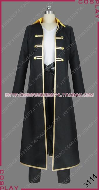 Alucard adrian tepes anime ver. Uniforme roupa roupa cosplay traje s002
