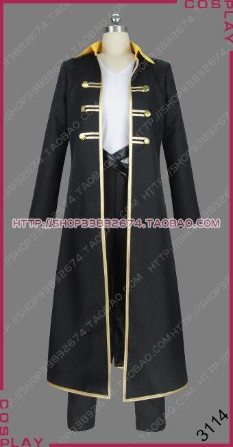 ¡Castlevania Dhampir cazador de vampiros Alucard Adrian Tepes Anime Ver! Uniforme ropa Cosplay traje S002