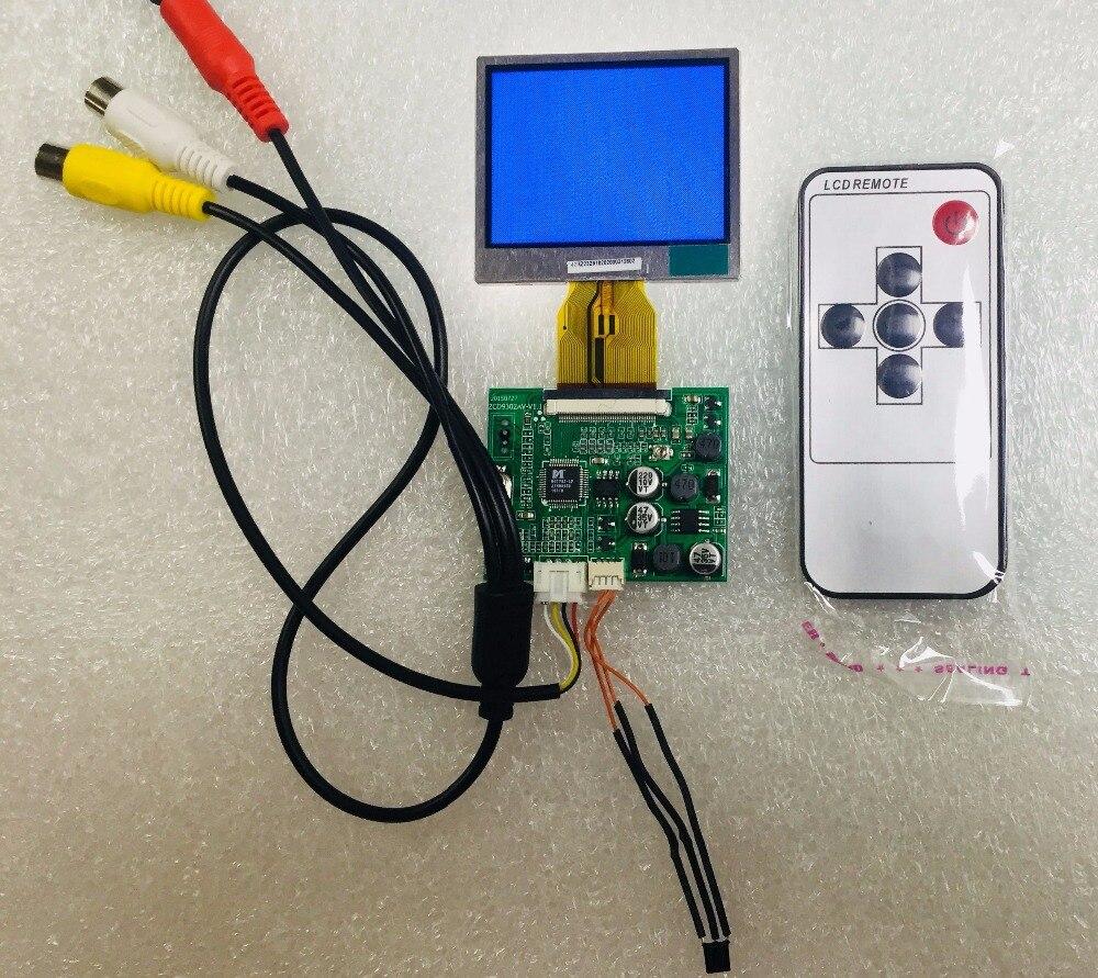 Original novo auo/2.4 module module polegadas módulo lcd/TFT-LCD/2.4 polegada hd av módulo de sinal