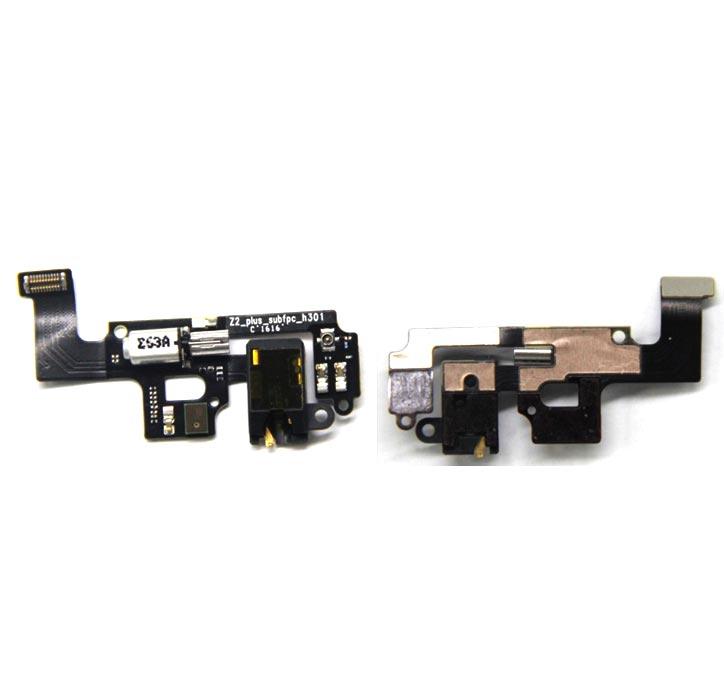 New Ymitn H Motor Vibrator & Headphone jack flex cable For Lenovo ZUK Z2  Headphone cable