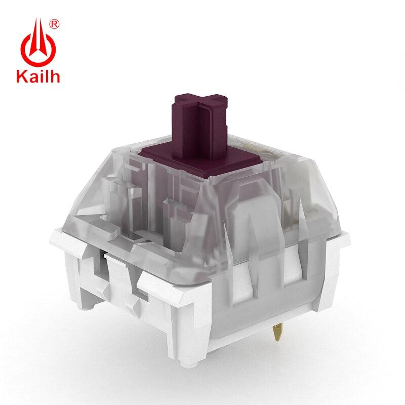 Купить с кэшбэком 10pcs Kailh speed Plum Purple/Berry/Sage Switch, mechanical keyboard switch tactile/Clicky/Linear