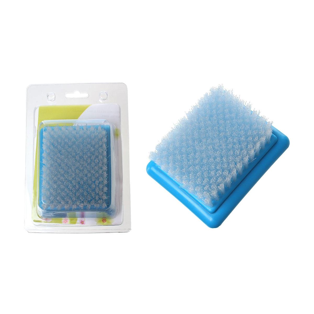 Polypropylene Felting Needle Mat Brush For Large Embroidery Stitching Punch Craft Tool Blue 1 PC