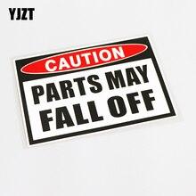 YJZT 15.8CM * 10.8CM pièces de décoration peuvent tomber de haute qualité autocollant de voiture autocollant PVC 13-0594