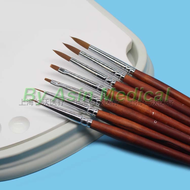 Yeni 1 setleri porselen kalem sırlı kalem diş teknisyeni araçları