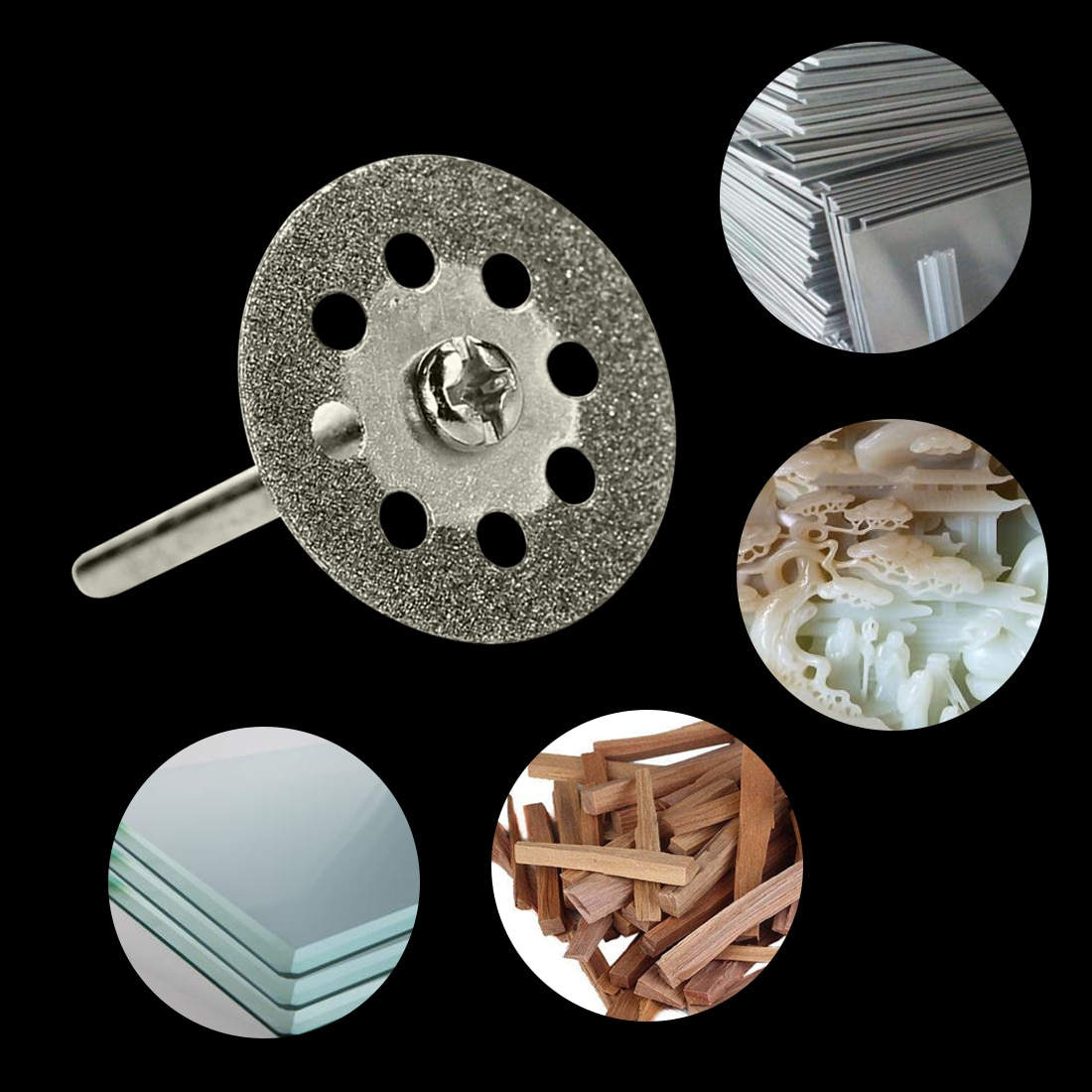 Juego de herramientas 10 piezas / 5 piezas Dremel muela abrasiva de - Herramientas abrasivas - foto 6