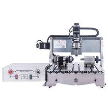 CNC routeur bois graveur 3020 cnc fraiseuse PCB gravure machine Mini CNC 3040 avec broche 300W