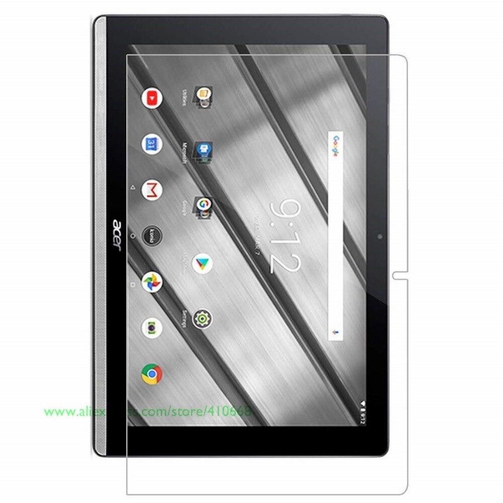 "9H Real protector de pantalla de vidrio templado película para Acer Iconia uno de 10 B3-A50 B3 A50 10,1 ""pulgadas Tablet"