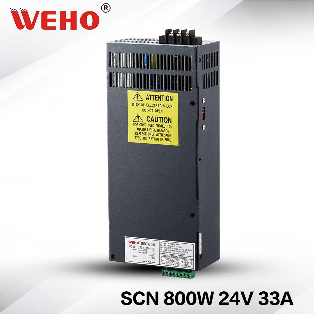 (SCN-800-24) grande potência 800 w 24v ac/dc fonte de alimentação 24v saída 800 watt psu