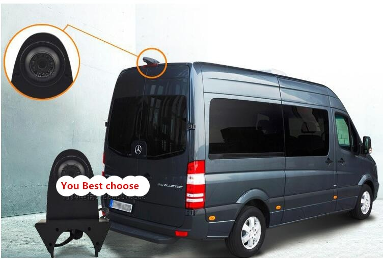 Лучшая камера заднего вида для Mercedes-Benz Bus OEM парковочная камера Оригинальный чехол для камеры заднего вида для Mercedes-Benz 12v