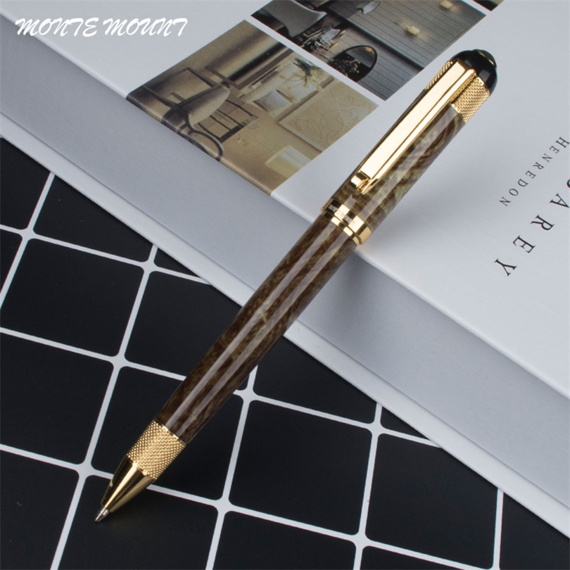 Free Shipping New Arrival Brand Metal Ballpoint Pen Luxury Business Gift Writing