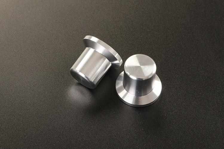 KYYSLB 30 мм диаметр высота 26 мм алюминиевый усилитель шасси однотонная соломенная шляпа регулятор громкости Ручка потенциометра