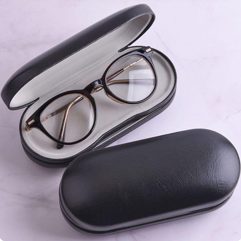 Criativo óculos de uso duplo caso artesanal caixa de dupla camada multi-purpose lentes de contato caixas para homem mulher unissex