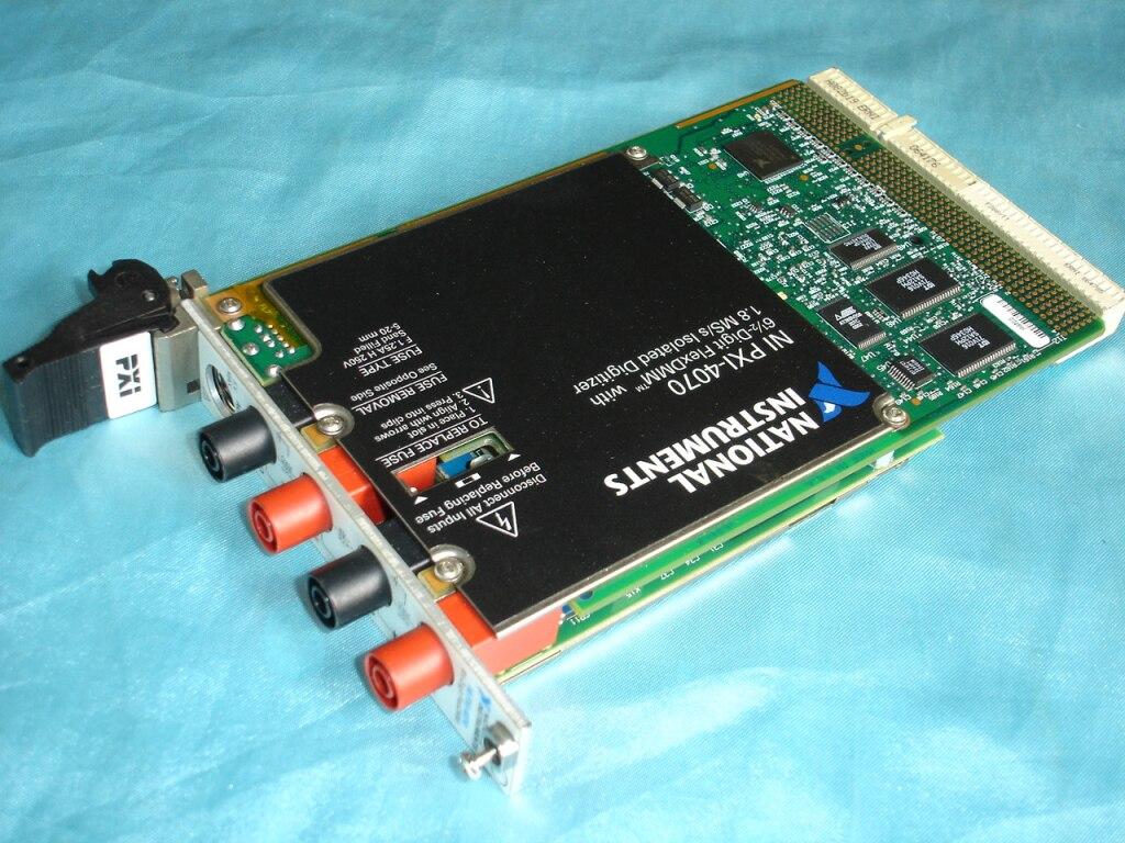 Para la adquisición de datos de comunicación PXI-4070 tarjeta DAQ-instrumentos nacionales NI-Original usado