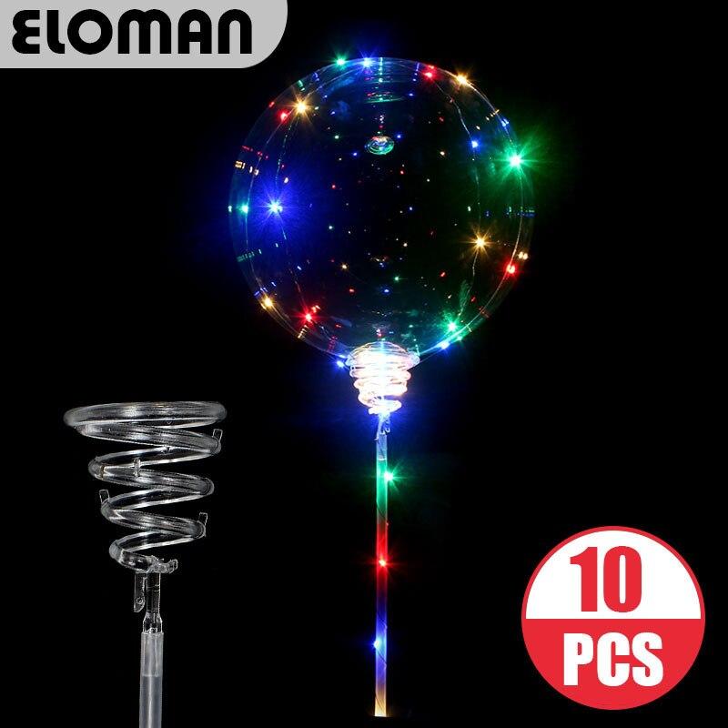 Balões claros da bolha do bobo do diodo emissor de luz do diodo emissor de luz de 3m