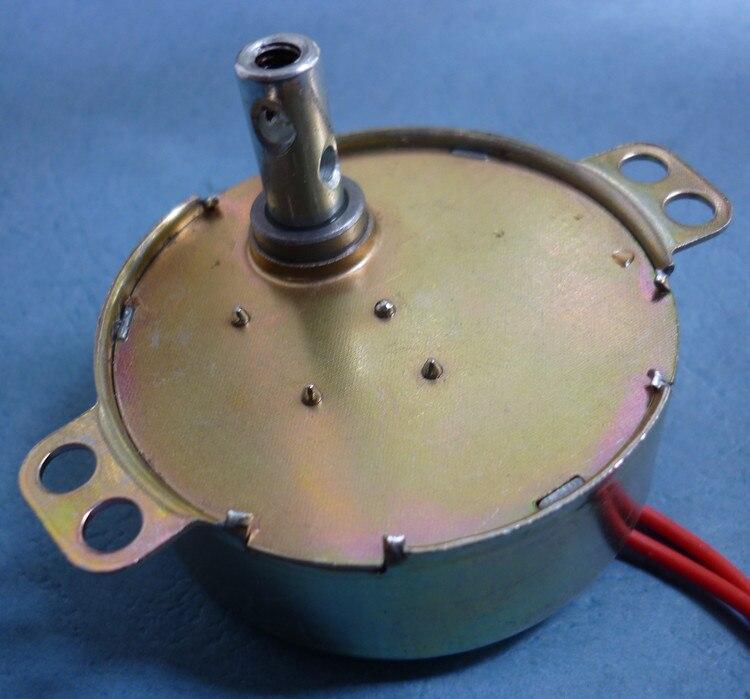 TYD49 CW/CCW Runde Klaue-Pol Permanent Magnet Synchron Motor 49TYD 220V 5RPM 15RPM 33RPM Boden Fans Bobble Kopf