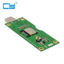 M.2 NGFF Wireless WWAN to USB Adapter Card with SIM Card Slot Module Testing Tools