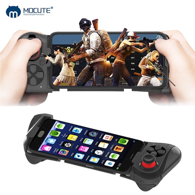 Mocute 058 Gamepad Bluetooth para juegos móviles mando a distancia inalámbrico mando telescópico almohadilla de juego para Android juego para teléfono