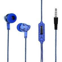 Ecouteurs Style glace noire ecouteurs avec Microphone pour iPhone Samsung écouteurs vert bleu blanc rouge couleur écouteur