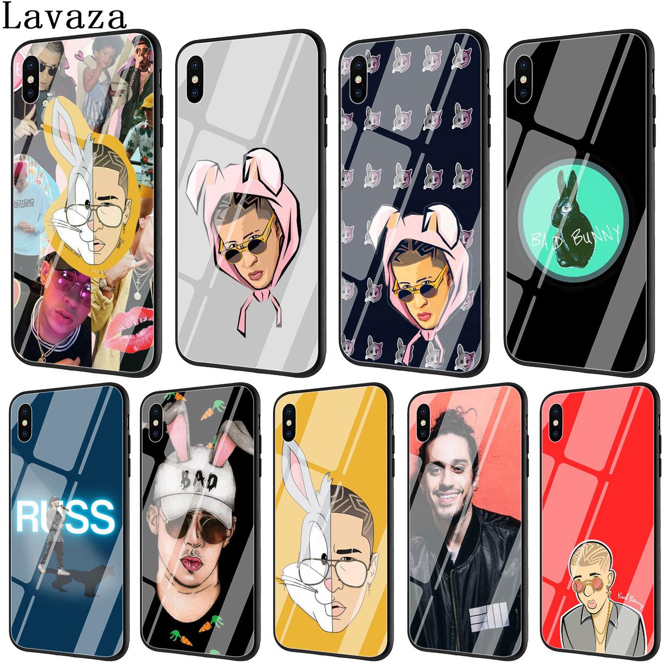 Lavaza Bad Coelho Russ diemon POP Vidro Temperado Caso Tampa Do Telefone para o iPhone Da Apple XR X XS Max 6 6 s 7 8 Plus 5 5S SE 10 Casos