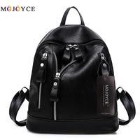 Women Backpacks Hot Sale Fashion Causal Bags High Quality Bead Female Shoulder Bag PU Leather Backpacks For Girls
