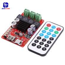 TPA3116 2x50W sans fil Bluetooth 4.0 Audio récepteur carte USB TF carte Slot amplificateur stéréo Module DC 8-26V avec télécommande