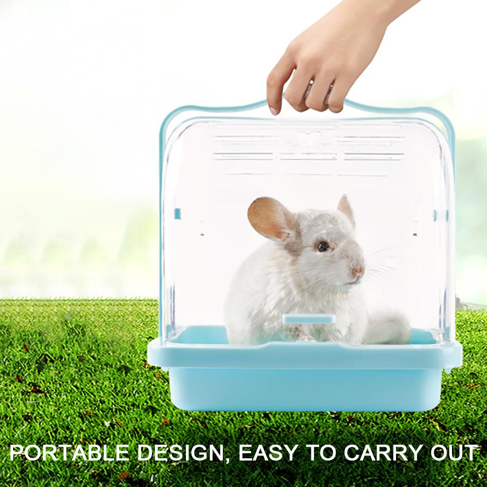 Gaiola de Hamster Animal de Estimação Fora do Hamster Móvel para Fora Ninho de Animais de Estimação Pequeno Gaiola Decorativa Bonito Portátil Suprimentos