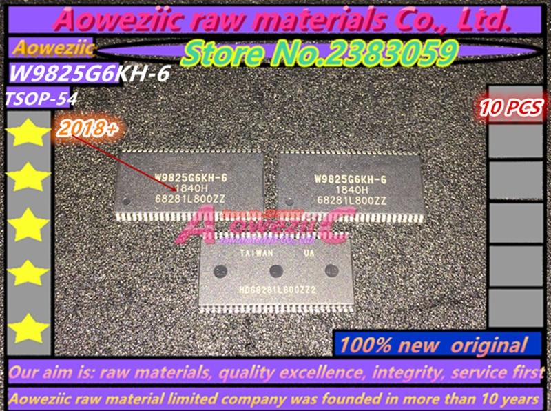 Aoweziic  2018+ 100% new  original  W9825G6KH-6  W9825G6KH  M12L2561616A-6TG  M12L2561616A  TSOP-54  memory chip