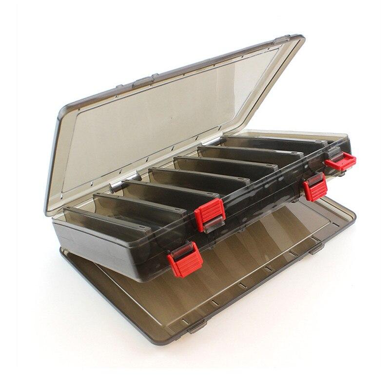 Caja de señuelo de Pesca de doble cara caja de aparejos de Pesca de señuelo de Pesca