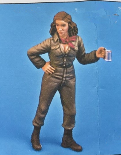 1/35 Figura Resina Modelo Kit Unassambled Sem Pintura 194