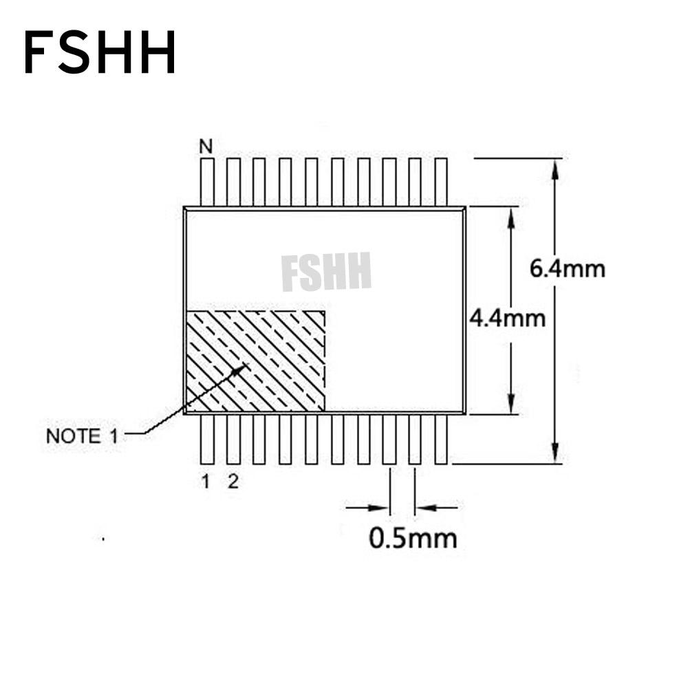 SSOP16 test socket TSSOP16(OTS-16(28)-0.65-01) IC Test Burn-in Socke 0.65mm Pitch 4.4mm Width