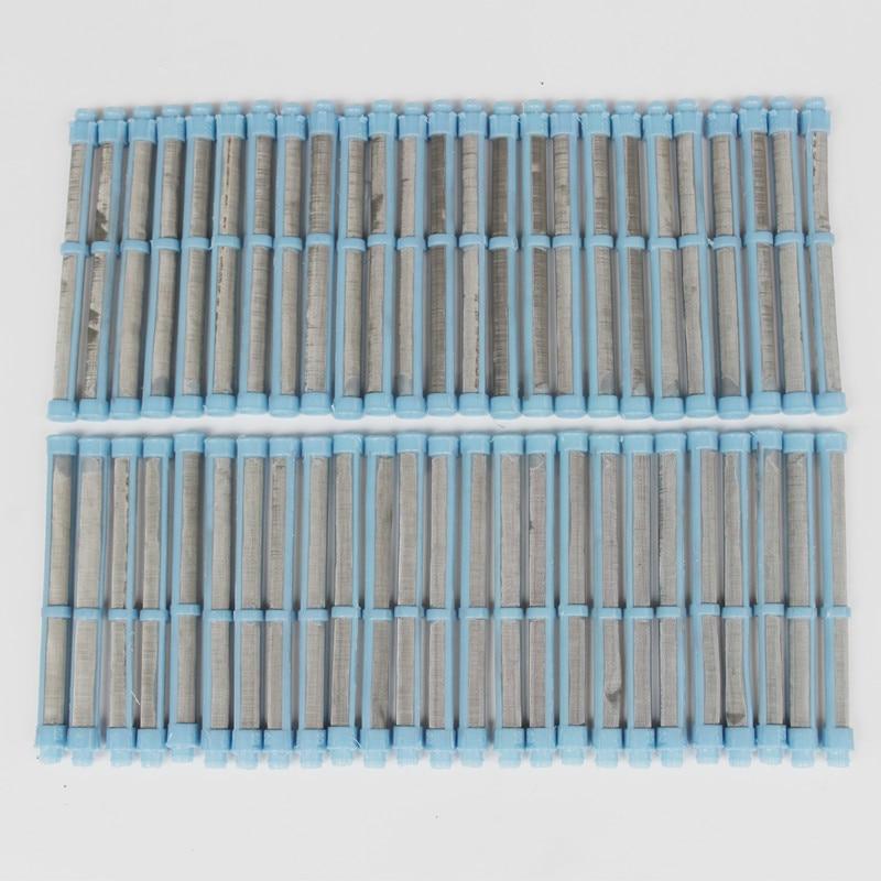 50 pces 100 malha airless spray gun filtro para graco airless pintura spray ferramenta