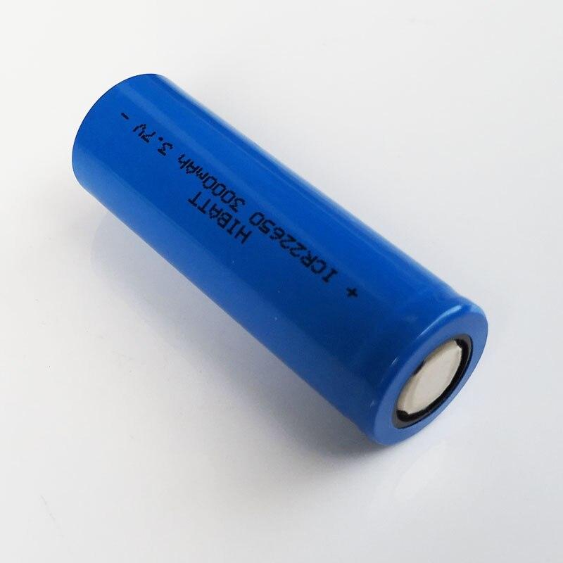 3,7 V 22650 batería de iones de litio recargable li-ion superior plana 3000mah para Feiyu tech Fy G5/SPG/SPGLive cardán de mano