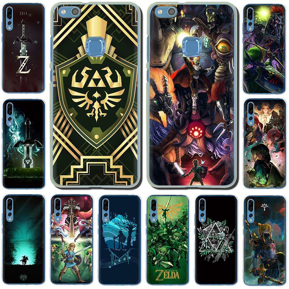 La leyenda de Zelda caja del teléfono duro para Huawei Honor juego 10 8C 8X 8 9 Lite 7C 7X 6A 7A 6C 20 9X Pro