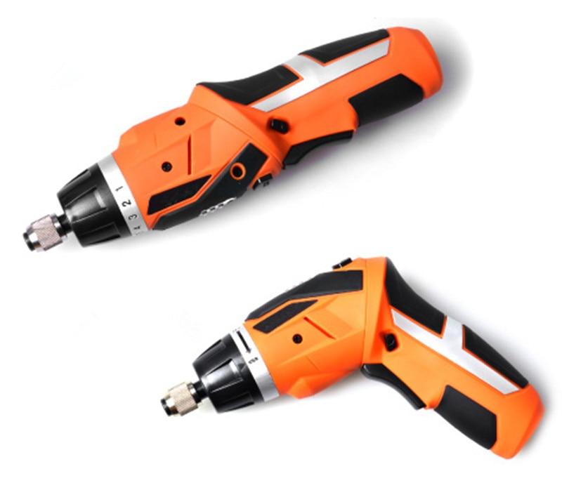 Destornillador eléctrico inalámbrico con batería de litio destornillador recargable herramientas eléctricas taladro inalambrico