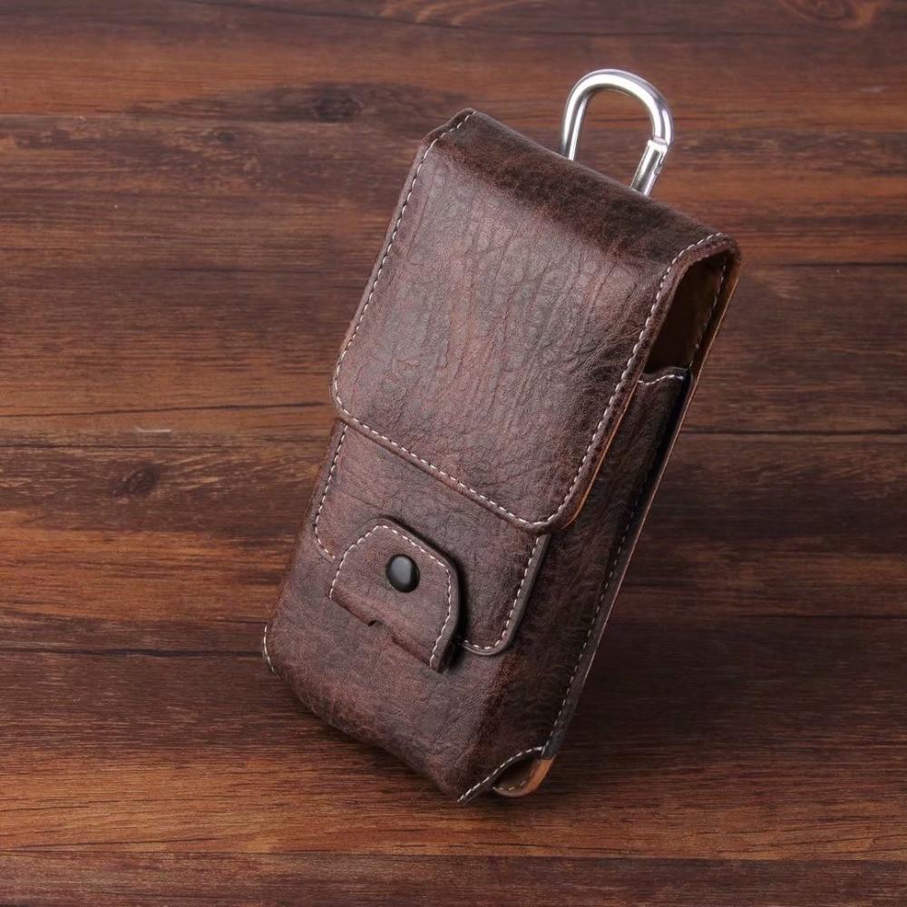 Handy Leder Fall Taille Packs Gürtel Clip Tasche mit Karte Slots Blackview BV6300 Pro BV9900 BV9500 BV6800 BV9600 BV5500Plus