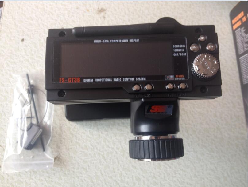 RC voiture bateau contrôleur FS-GT3B 2.4G émetteur avec récepteur Combo FLY SKY 3ch