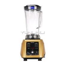 YUNLINLI 4L mélangeur haute vitesse Intelligent mélangeur alimentaire multifonction mélangeur alimentaire Commercial robot culinaire ST-650S
