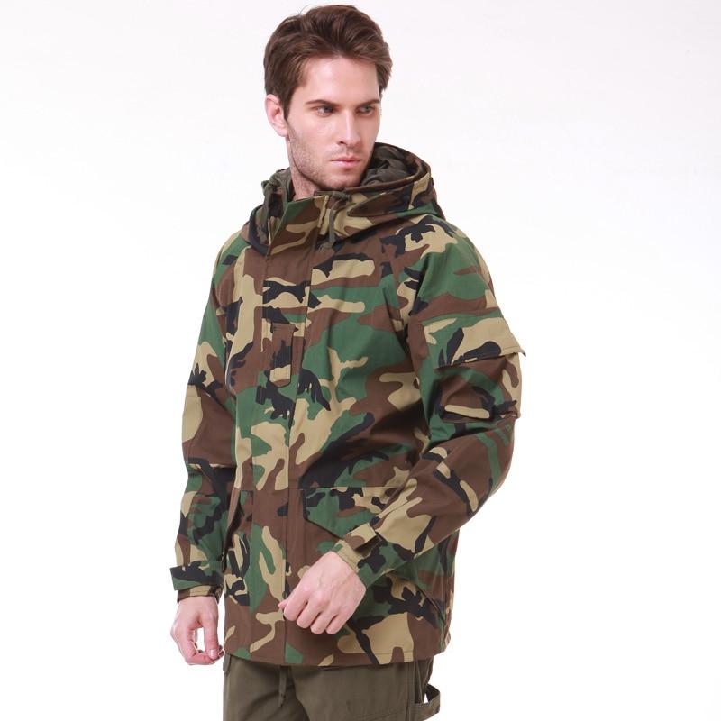 G8 chaqueta rompevientos impermeable bosque cp ACU BK-chaqueta de invierno M-XXL