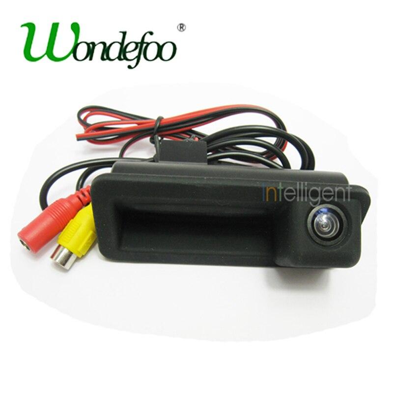 Автомобильная парковочная камера Wondefoo, заднего вида HD для FORD Mondeo FOCUS Range Rover Freelander 2, камера заднего хода