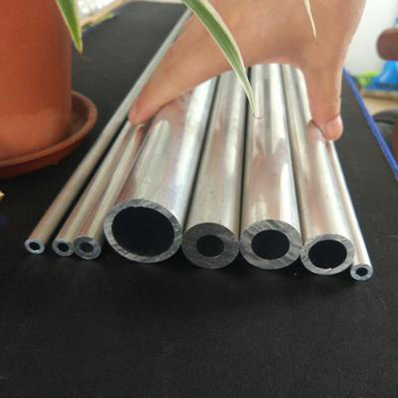 1 Uds. 4mm-13,6mm diámetro interior tubo de aluminio aleación hueco AL perno duro tubo de conducto recipiente 300mm L 15mm OD