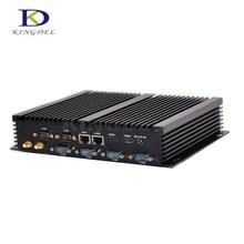 Noyau dordinateur PC sans ventilateur i5 4200U/4210U 2 * LAN, 2 * HDMI, USB 3.0, 6 * COM RS232 mini PC industriel NC310