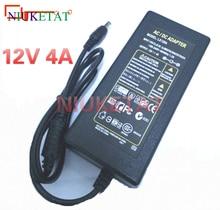 1 pièces LX1204 ca 100-240V à cc 12V 4A 48W adaptateur dalimentation alimentation à découpage 12V4A chargeur pour RGB bandes LED lumière